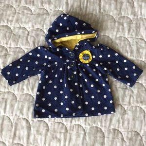 $4 BUNDLED ~ Carter's | Baby girl hooded jacket